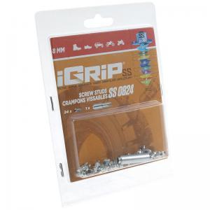 iGrip Skruvdubb (SS) 8 mm (stövlar och kängor)